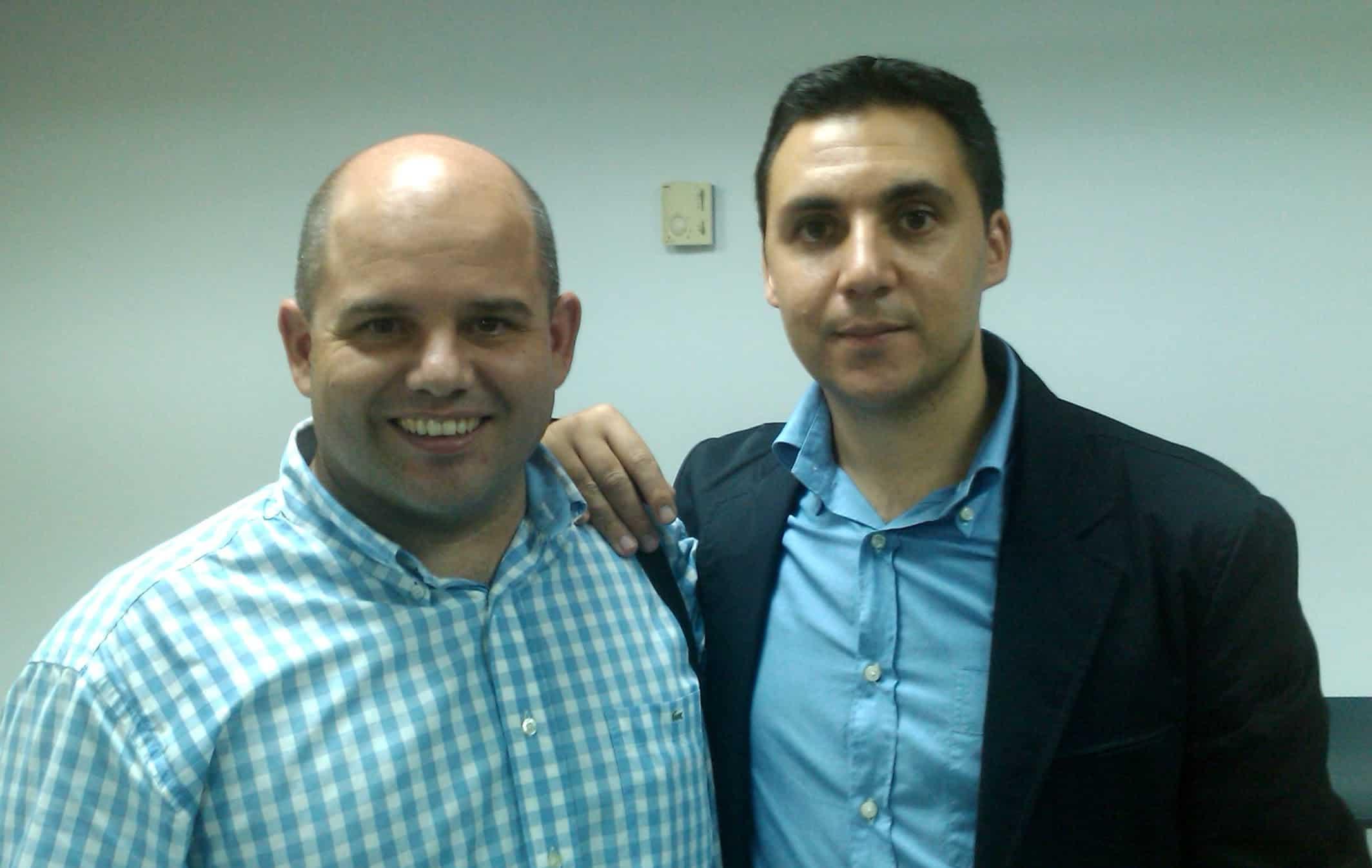 Con Ismael Elqudsi