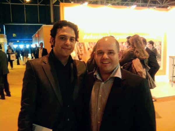 Con Rafa Jiménez