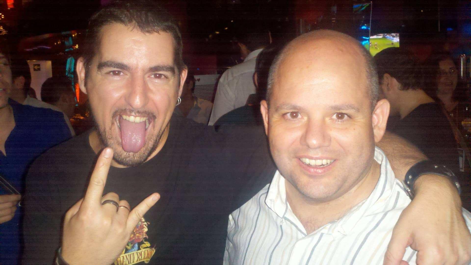 Con Ricardo Tayar