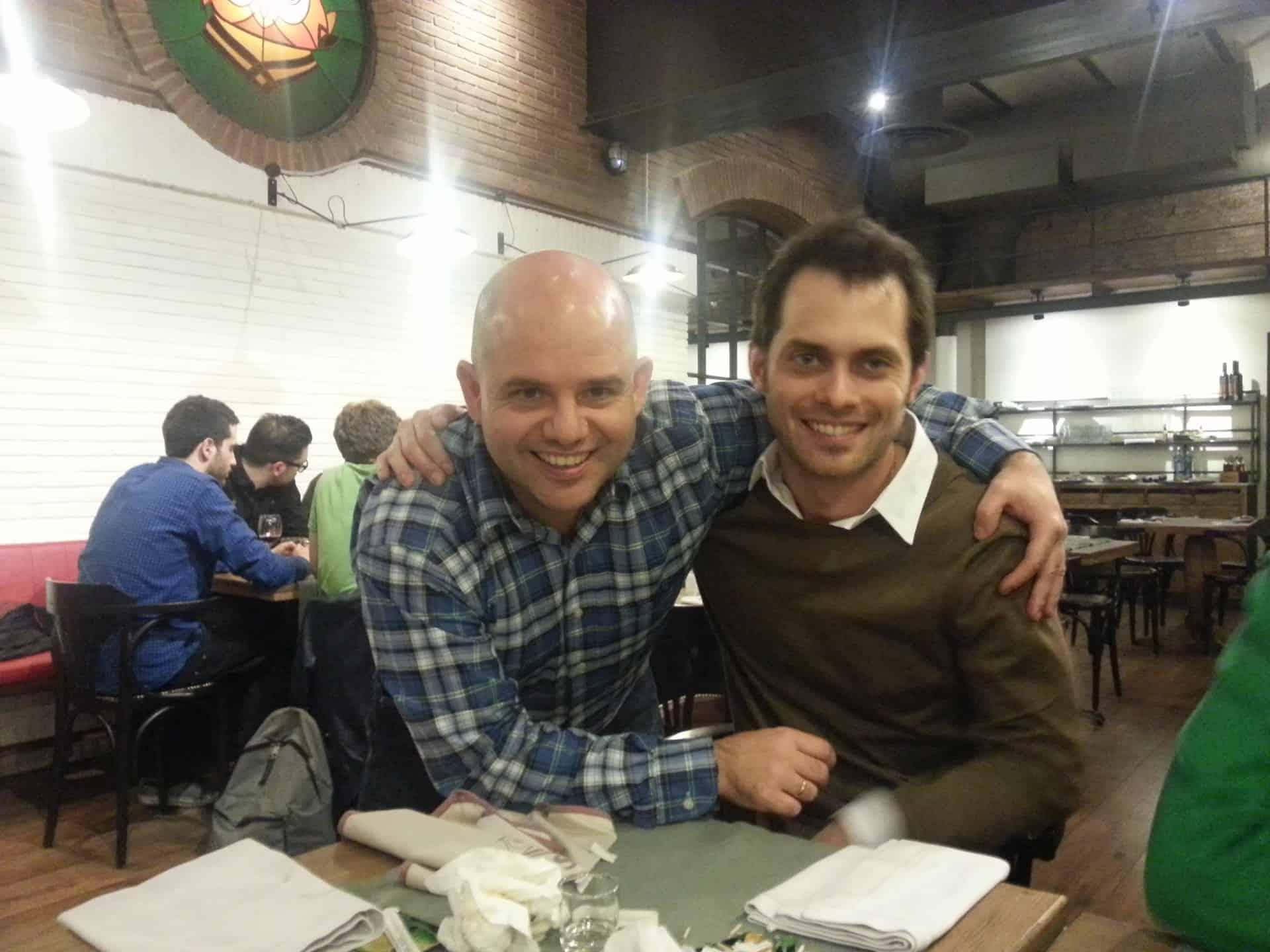 Con Marcos Ametller