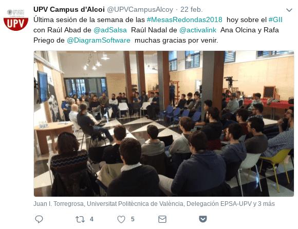 UPV Mesa Redonda nuevos perfiles en Tecnología