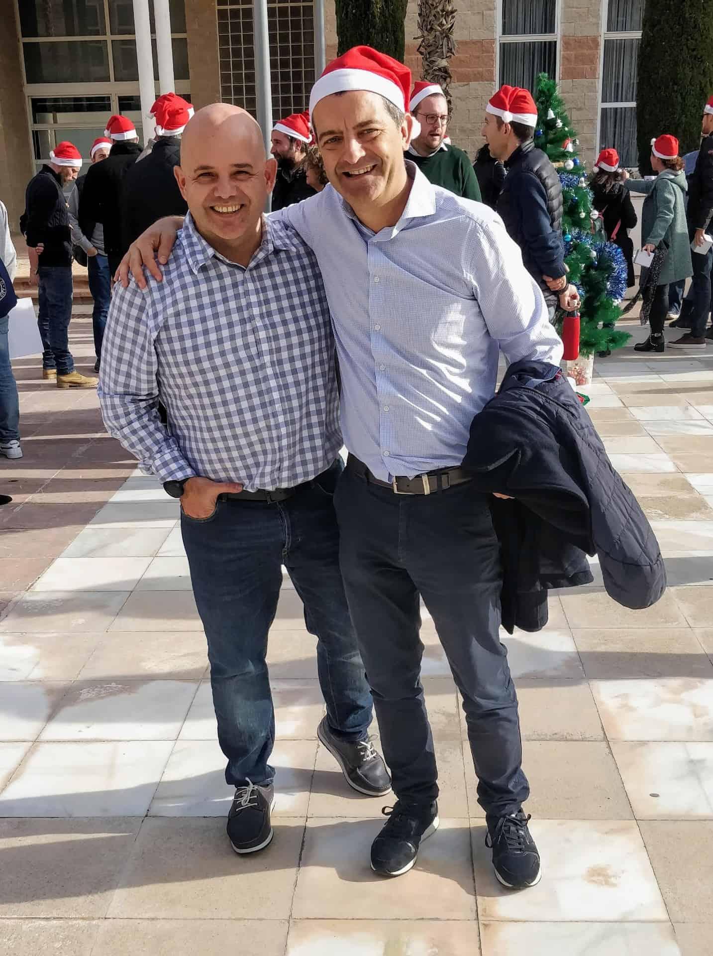 Con Ignacion Pérez
