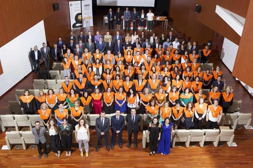 Acto de Graduación del Máster en Dirección de Hoteles de la UA