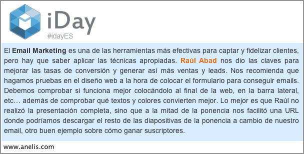 iDay Alicante Marketing Digital