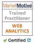 Web Analytics Certified by MarketMotive