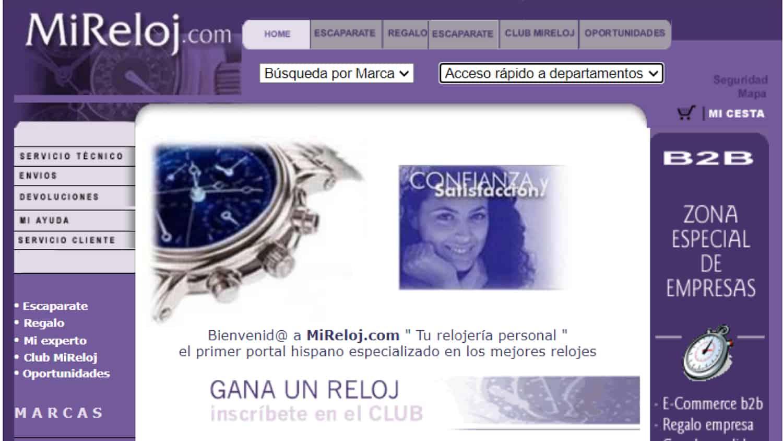 Mi Primer Ecommercer - MiReloj.com - Raúl Abad